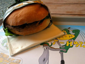 Horse burger, France