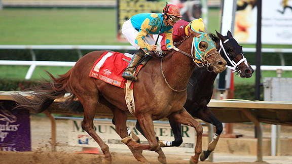West Virginia Horse Racing. Google Image.