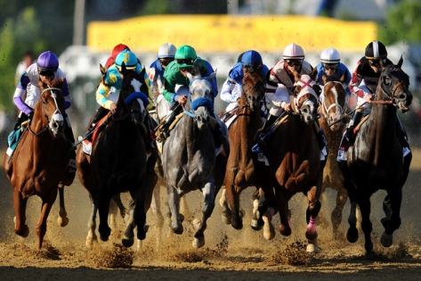 137th Preakness Stakes (Photo by Patrick Smith/Getty Images)