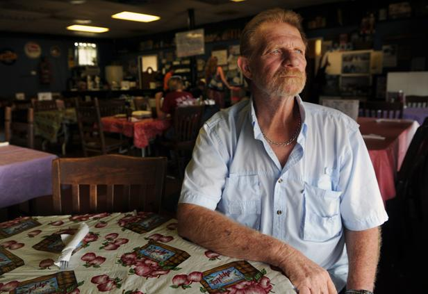 Bill Crowder, owner of Midway Diner. (Photo by Shelley Mays)