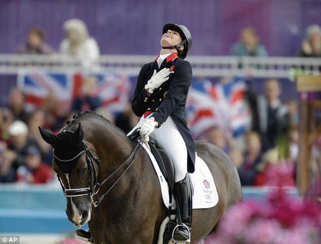 Charlotte Du Jardin Valegro and Valegro. AP Photo.