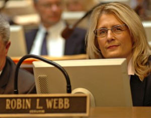 Kentucky State Sen. Robin Webb (D-18).