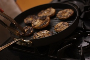Grilled Marinated Portobello mushrooms. Google Image.