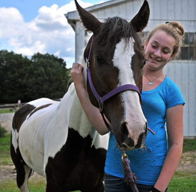 Bethany Horse Cheyenne. Peter Casolino/New Haven Register.