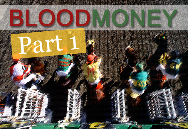 Blood Money by Jane Allin Part 1