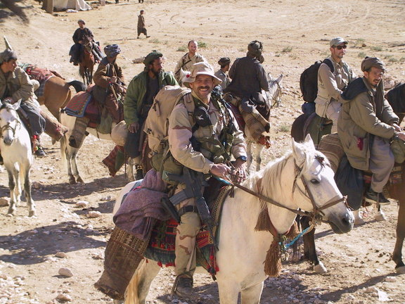 Horse Soldier Sgt Bart Decker Afghanistan. Image from sgtmacsbar.com.