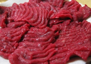 Raw Horse Meat. Image via Wikipedia.