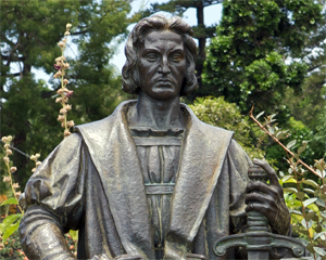 Statue of Christopher Columbus. Photo Credit: Wikimedia