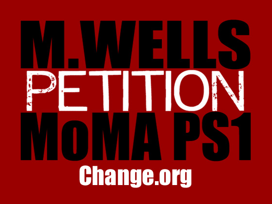 MoMA PS1 M Wells Diner Petition. Artwork: Tuesday's Horse.