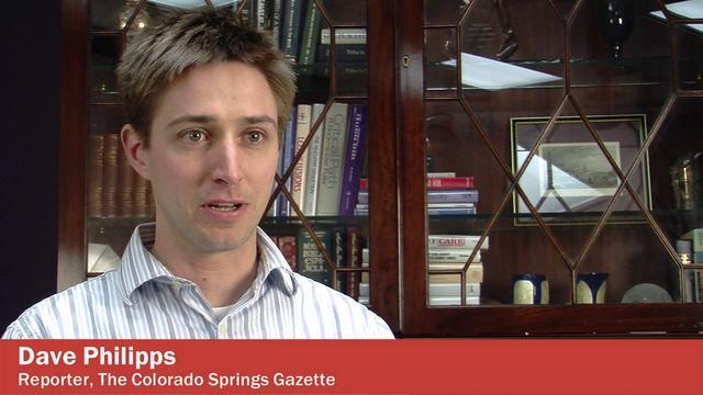 Reporter Dave Philipps. Google image via Vimeo.