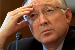 Ken Salazar. (AP Photo/Evan Vucci)