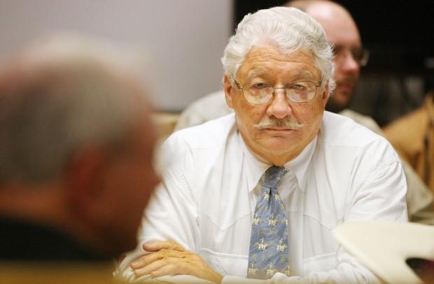 Leachman on trial for horse abuse. Photo: Paul Ruhter/Billings Gazette.