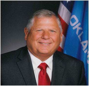 Oklahoma State Senator Mark Allen (R-4). Google image.
