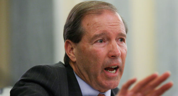 Democratic Senator Tom Udall of New Mexico.  Udall is probably best known in horse protection circles for his work to end racehorse doping. Google image.