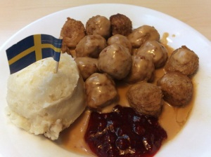 Ikea Swedish Meaballs.