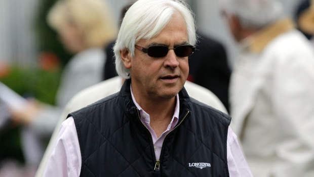PHOTO BY ROB CARR/GETTY IMAGES Thoroughbred racehorse trainer Bob Baffert.