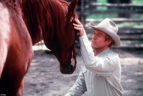 Robert Redford, who has spoken out numerous timed on behalf of horses, calls for a ban on horse slaughter.