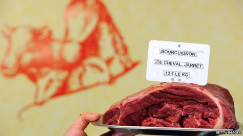 Most of the meat from horses slaughtered in the UK was exported to other European countries. Getty images.
