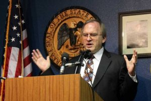 Attorney General Gary King. Google image.