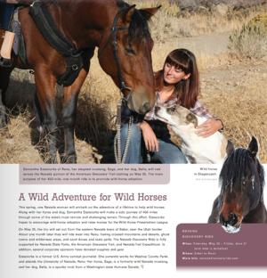 Samantha Szesciorka. Image: Nevada Magazine.