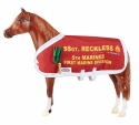 Sgt. Reckless horse by Breyer.