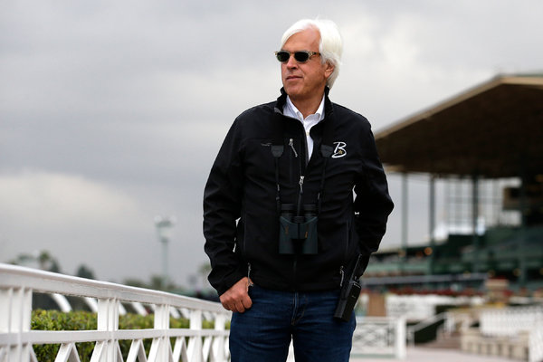 California thoroughbred racehorse trainer and slippery fish Bob Baffert. Photo Jae C. Hong/AP.