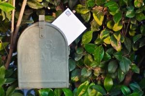 Envelope in Mailbox