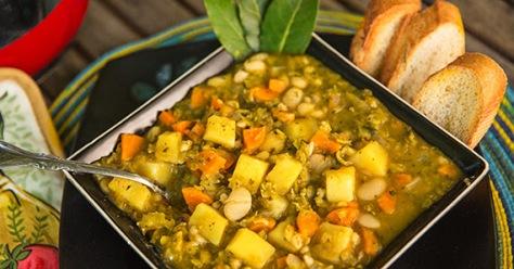 Split pea soup. Image: Fork Over Knives.