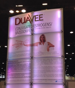 Duavee Booth at ICE/ENDO in Chicago 2014.  Image: Ligand's Twitter feed.