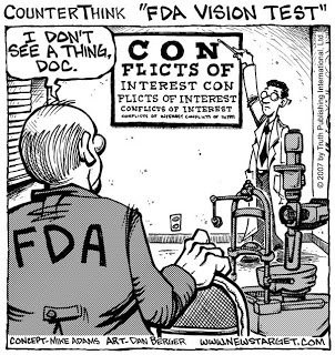 FDA Conflict of Interest Cartoon