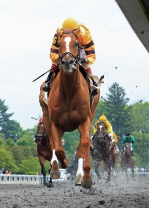Wise Dan wins the Ben Ali, 2012.  Keeneland / Coady Photography.