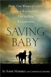 Saving Baby by JoAnne Normile book cover.