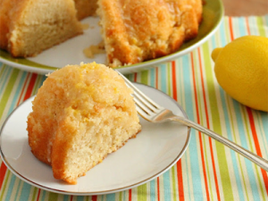 Lemon on Lemmon on Lemmon Pound Cake. By Vegan Mother Hubbard. Source image.