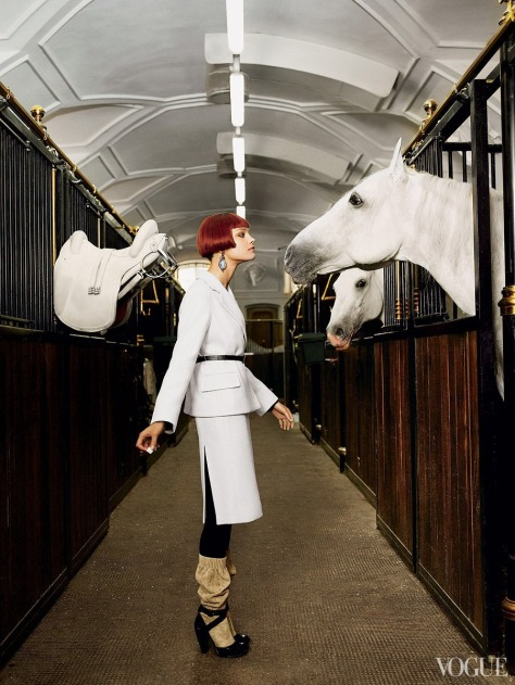 From the slideshow Photos: Horses In Vogue.