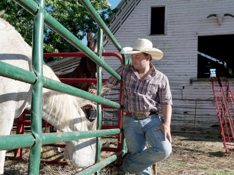 Justin White, 26, buys horses for slaughter but resells some. White has five animal cruelty charges pending in S. Carolina in addition to the Coggins violations.  (Photo: Tonya Maxwell / tmaxwell@citizen-times.com)