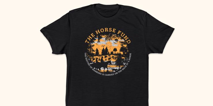 Bonfire Horses and Civilization T-Shirt Campaign.