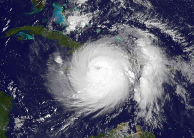 NASA Image of Hurricane Matthew