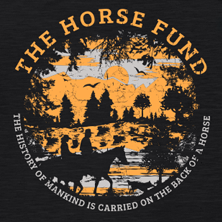 Horse and Civilization Commemorative Tee Artwork Closeup.