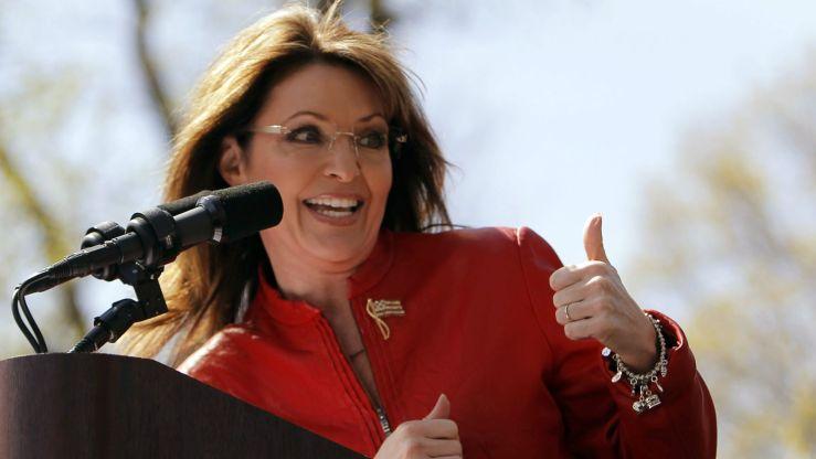 Sarah Palin. Image: Reuters/Bryan Snyder.