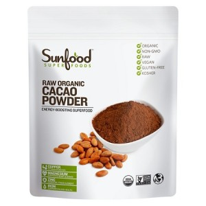 Cacao powder is on offer at Target.