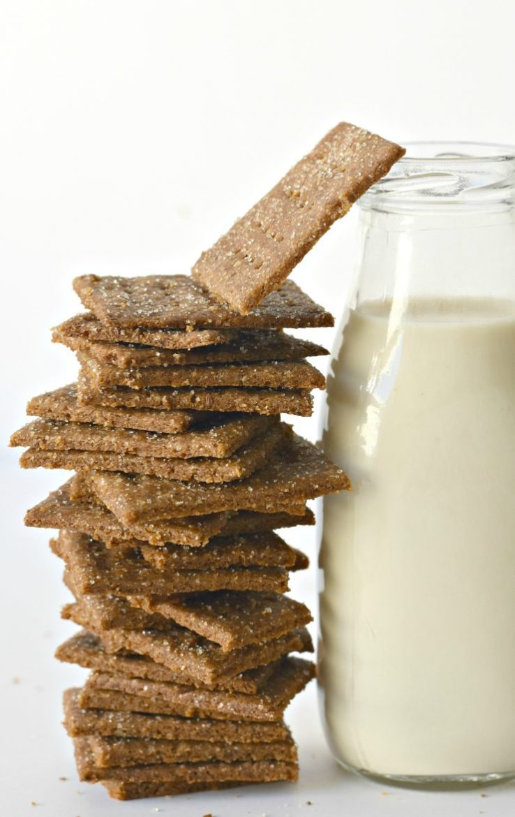 Click to visit Fork&Beans for the graham crackers recipe.