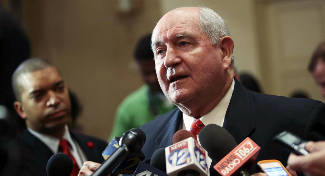 US Agriculture Secretary Nominee Sonny Perdue. Image source: NBC News.
