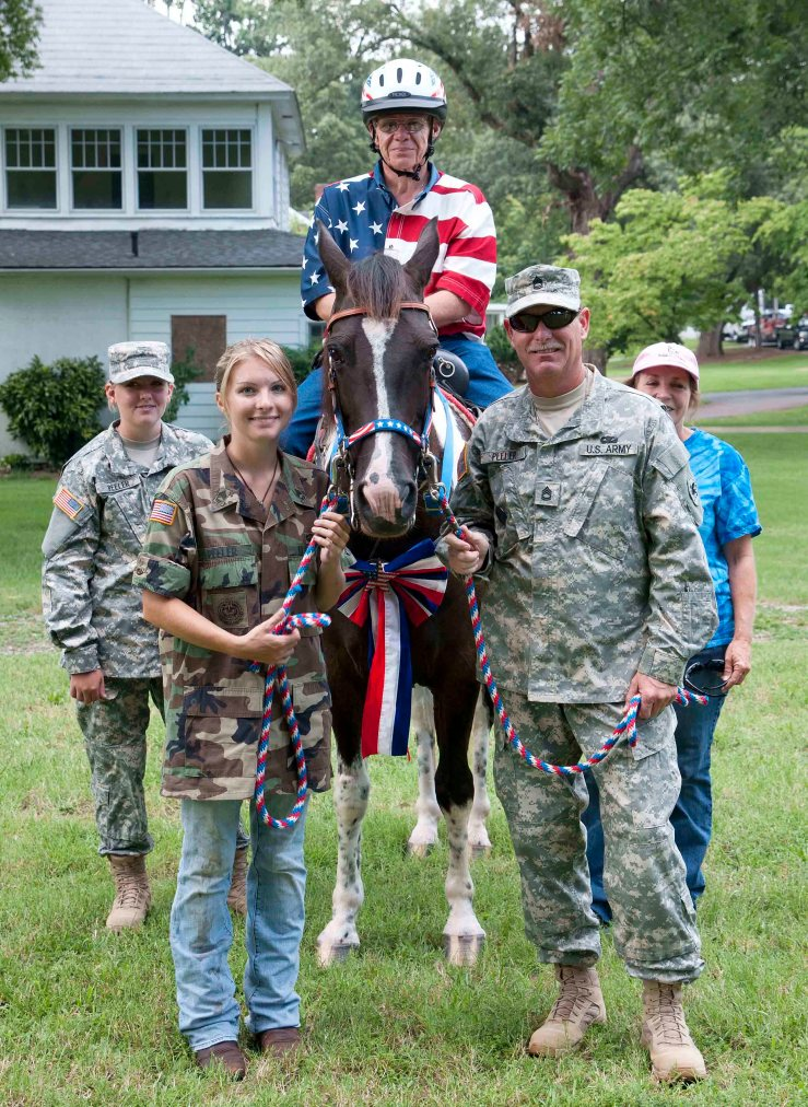 Horses for Heroes. Rising Hope Farms. Click image to visit website.