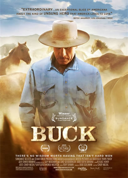 Buck the movie, cover.