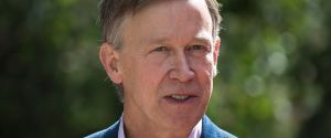 Colorado Governor John Hickenlooper. Drew Angerer / Getty Images.