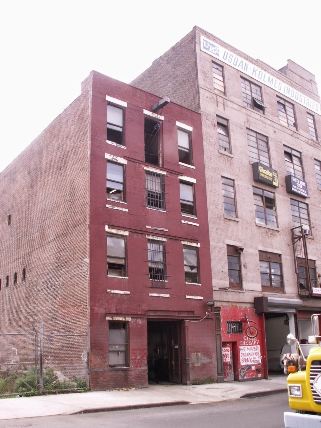 West Side Livery Stable (left) in Hell's Kitchen has been stabling horses for over 150 years. Time for a change don't you think? Google search result. Unattributed image.