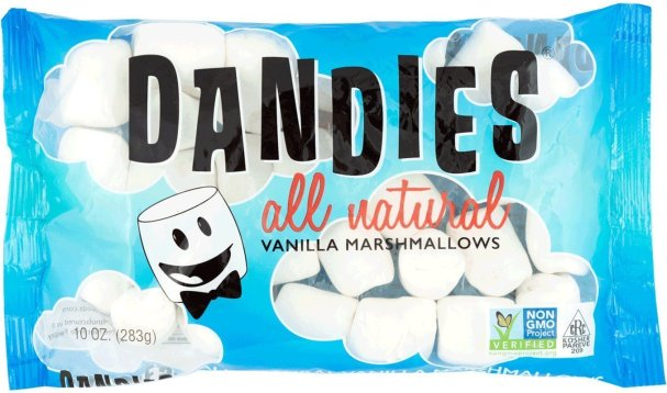 Dandies Vegan Marshmallows. Amazon image.