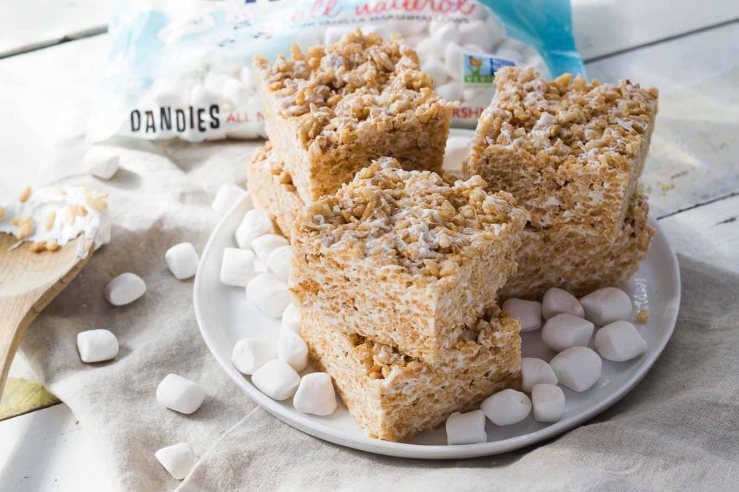 Dandies Classic Crispy Treats. Vegan! Click to order Dandies from Amazon.