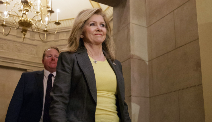 "Republican Rep. Marsha Blackburn's campaign announced that ads would hit the airwaves on April 27 in ""all"" major and small markets across Tennessee and run for a total of 14 weeks. Blackburn is running to succeed retiring Sen. Bob Corker, R-Tenn., who is stepping down after two terms. (AP Photo/J. Scott Applewhite)"