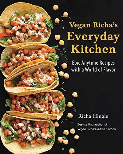 Vegan Richa's Everyday Kitchen cookbook.